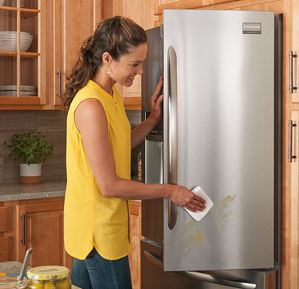 The Refrigerator Cleaning Process