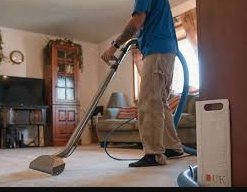 How to perform the spring carpet cleaning process?